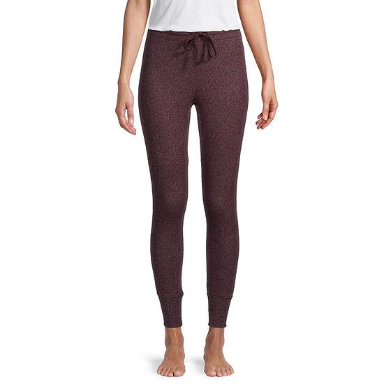 Ambrielle Ribbed Legging Womens Pajama Pants