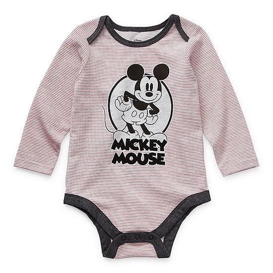 Okie Dokie Baby Boys Mickey Mouse Bodysuit