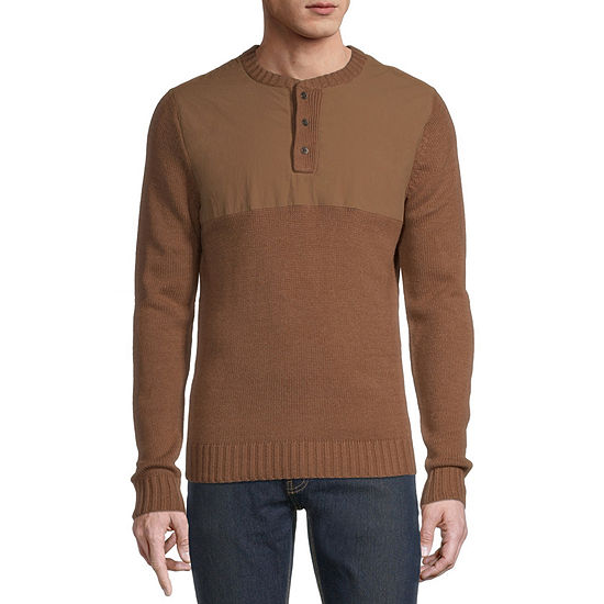 St. John's Bay Outdoor Long Sleeve Pullover Sweater