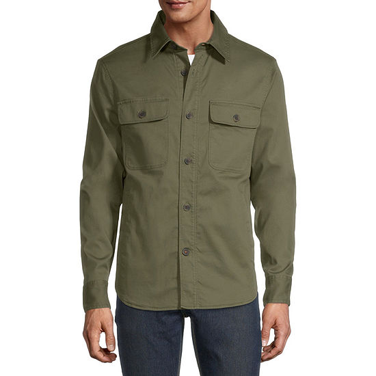 St. John's Bay Outdoor Midweight Shirt Jacket