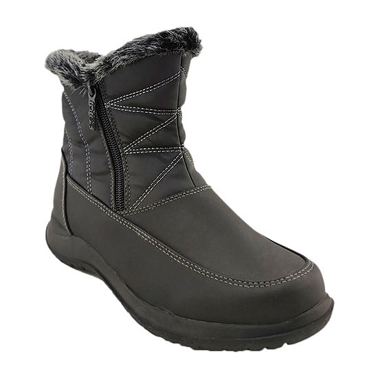 Totes Womens Fauna Waterproof Winter Boots Flat Heel