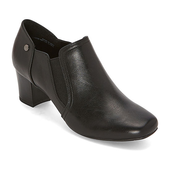 east 5th Womens Rhubarb Block Heel Booties