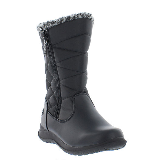 Totes Womens Janet Waterproof Winter Boots Flat Heel