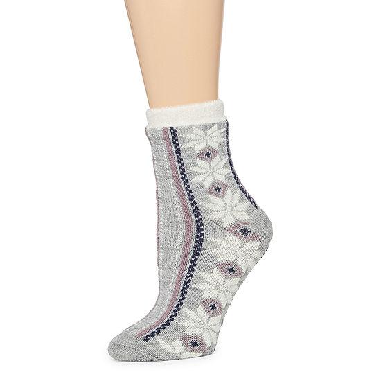 Mixit 1 Pair  Womens Slipper Socks