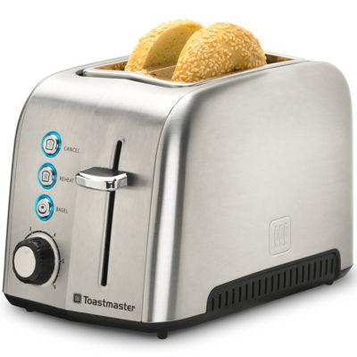 Toastmaster® Stainless Steel 2-Slice Toaster