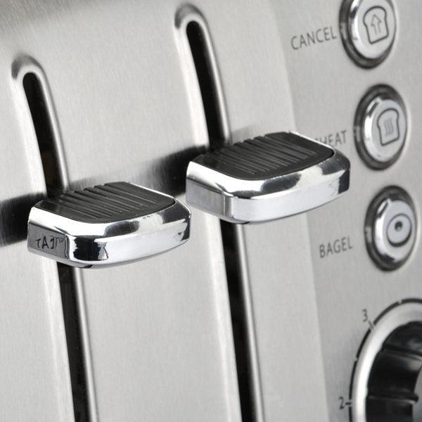 Toastmaster® Stainless Steel 4-Slice Slot Toaster