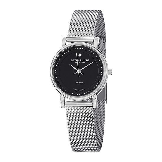 Stührling® Original Womens Stainless Steel Mesh Watch 7346.02