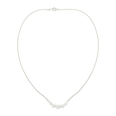 Cultured Freshwater Pearl Graduated Necklace