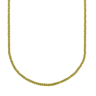 "14K Yellow Gold 22"" Wheat Chain"