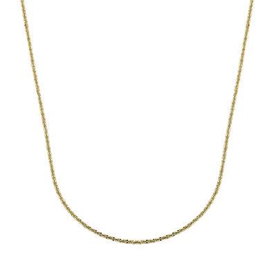 "14K Yellow Gold 18"" Brilliant Chain"