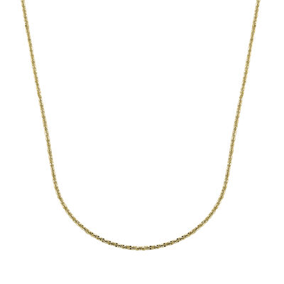 "14K Yellow Gold 22"" Brilliant Chain"