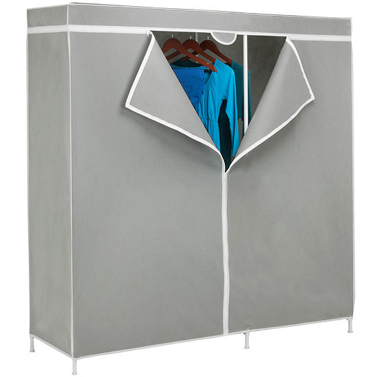 "Honey-Can-Do® 60"" Steel Frame Wardrobe"