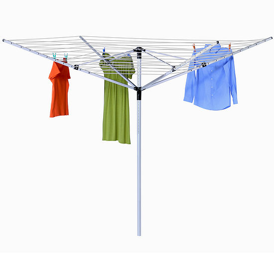 Honey-Can-Do® In-Ground Umbrella Dryer