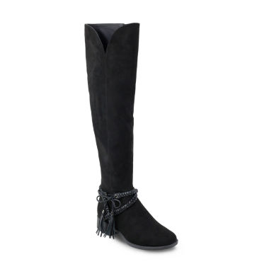 Olivia Miller Babylon Womens Over the Knee Boots
