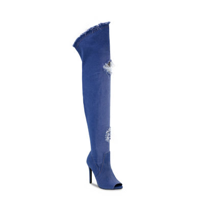 Olivia Miller Riverside Womens Over the Knee Boots