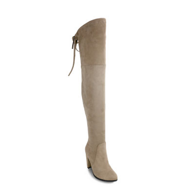 Olivia Miller Roosevelt Womens Over the Knee Boots