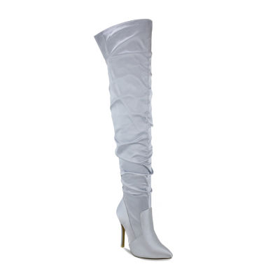 Olivia Miller Sayville Womens Over the Knee Boots