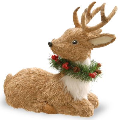 National Tree Co. 13I Resting Reindeer