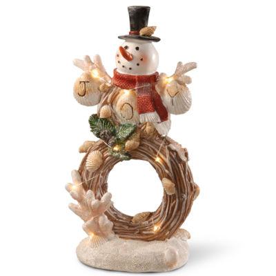 11I Lighted Holiday Snowman Décor