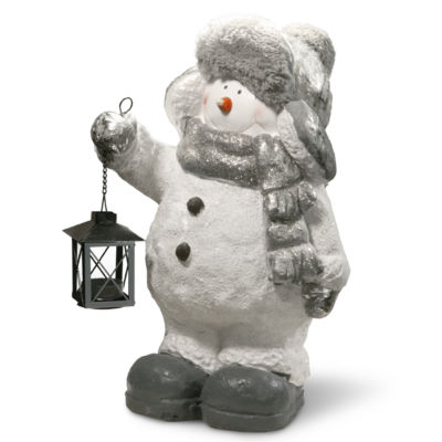 "NATIONAL TREE CO 20"" Snowman Decor Piece"
