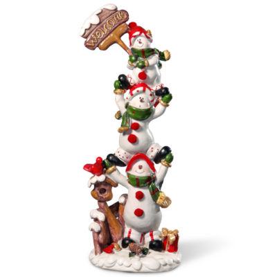 12I Snowmen Décor Piece