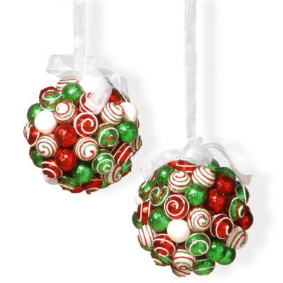 """6"""" Ornament Hanging Balls Set"""