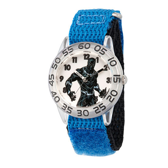 Marvel Avengers Boys Blue Strap Watch-Wma000230