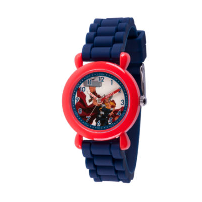 Avengers Boys Blue Strap Watch-Wma000237