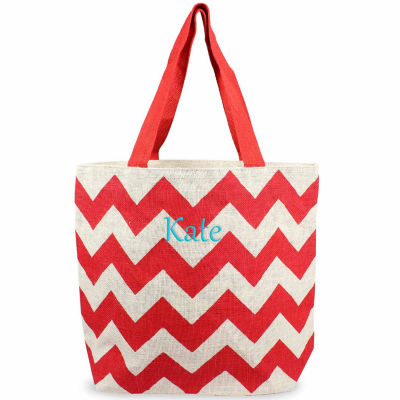 Cathy's Concepts Jute Tote Bag