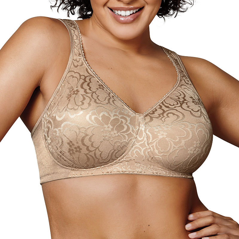Playtex 18 Hour Ultimate Lift and Support Wireless Bra - 4745 plus size,  plus size fashion plus size appare