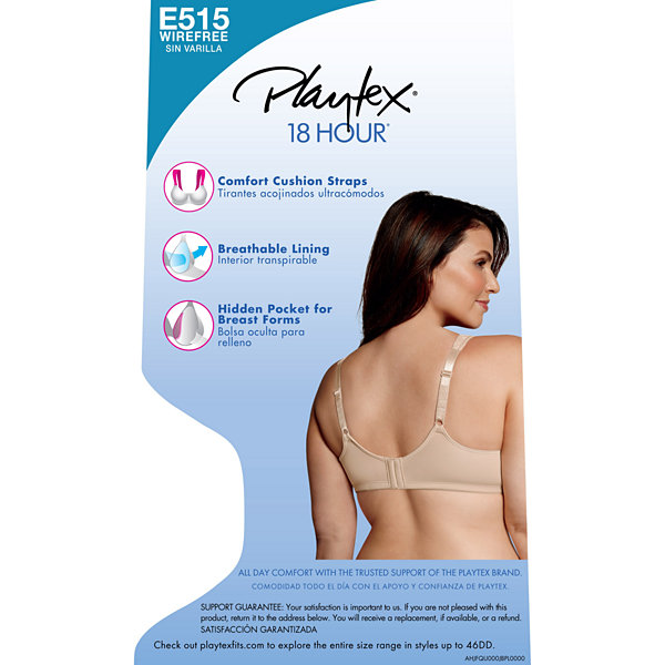 Playtex® 18 Hour® Perfect Lift Wireless Bra - E515