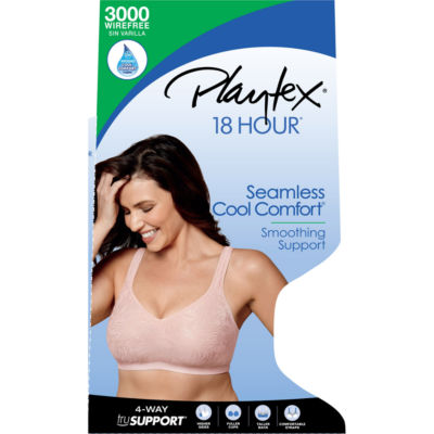 Playtex Wireless Full Coverage Bra-Us3000
