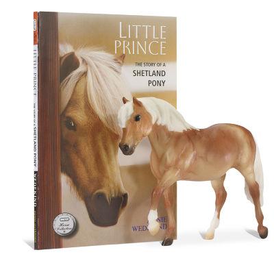 Breyer Horse Figurine And Book Set Little Prince