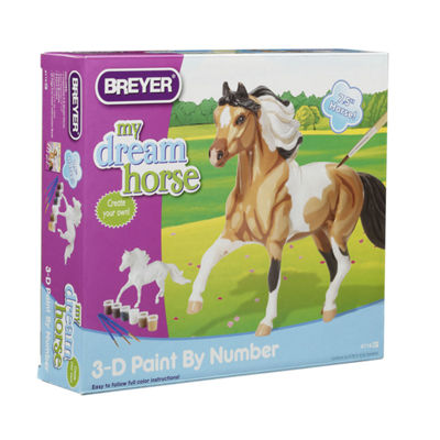Breyer My Dream Horse - 3D Paint-By-Number Kit - Pinto