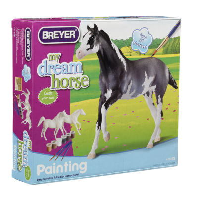 Breyer Paint Your Own Horse Activity Kit Arabian &Thoroughbred