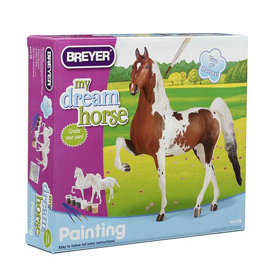 Breyer Paint Your Own Horse Activity Kit Quarter Horse And Saddlebred