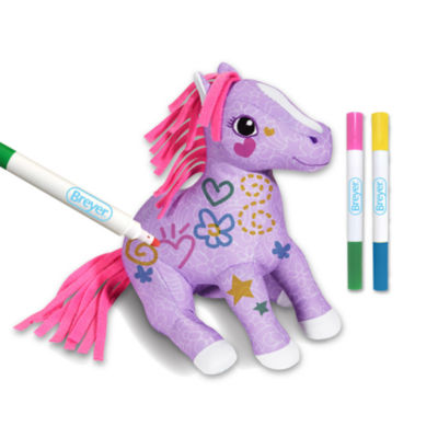 Breyer Pony Gals Scribbles Color & Wash Pony