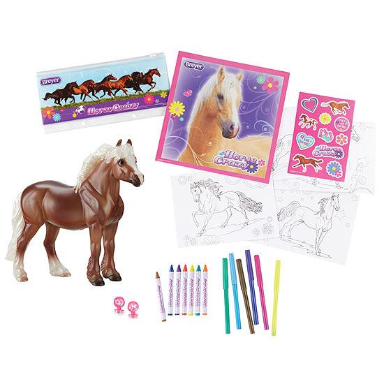 Breyer Stablemates Horse Crazy Real Horse ActivitySet