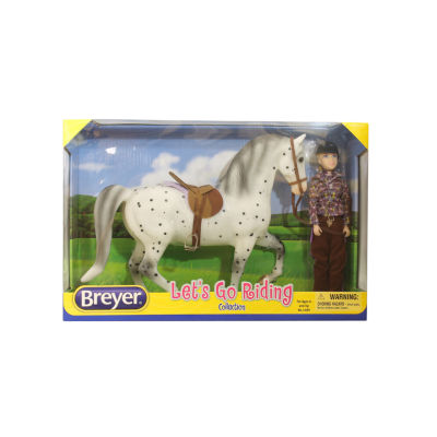 Breyer Traditional Series - English Let'S Go Riding Set
