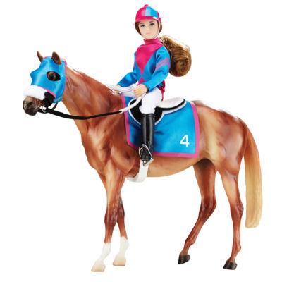 Breyer Traditional Series - Let'S Go Racing ModelHorse & Doll