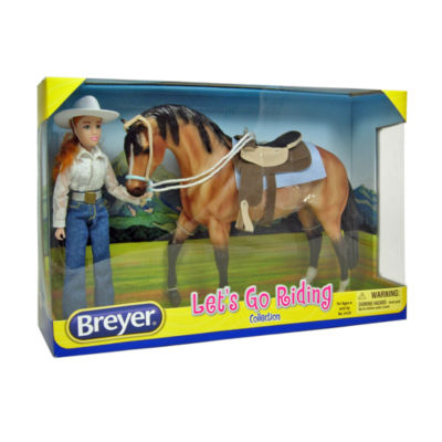 Breyer Traditional Series Let'S Go Riding WesternSet