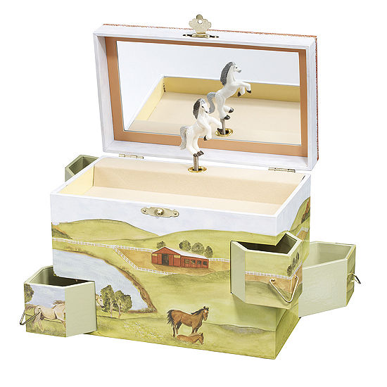 Enchantmints Hideaway Horse Music Treasure Box