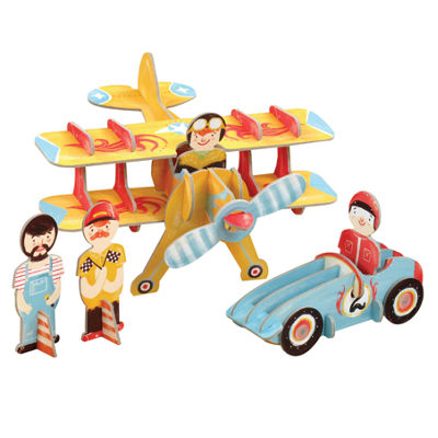 Krooom Racing Team Playset
