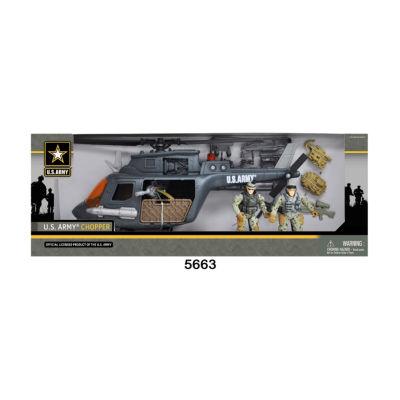 U.S. Army Chopper Playset w/ 2 Soldier Figures