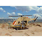 Us Army Chopper Playset W/ 2 Soldier Figures