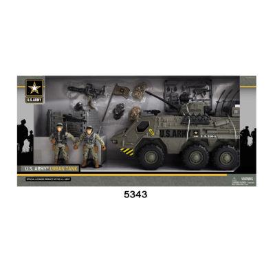 U.S. Army Tank Playset W/ Light And Sound