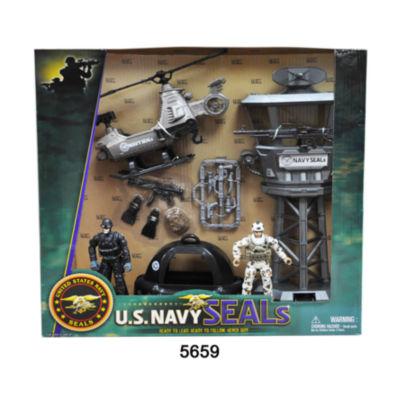 U.S. Navy Seals Observation Tower Figure Playset