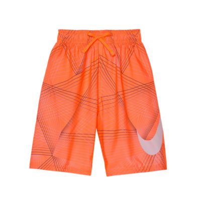 Nike Printed Swim Trunk - Boys 8-20