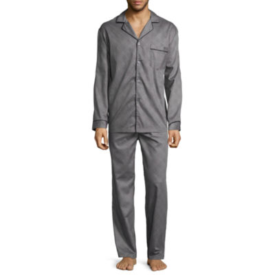 Stafford® Men's Long Sleeve / Long Leg Pajama Set - Tall