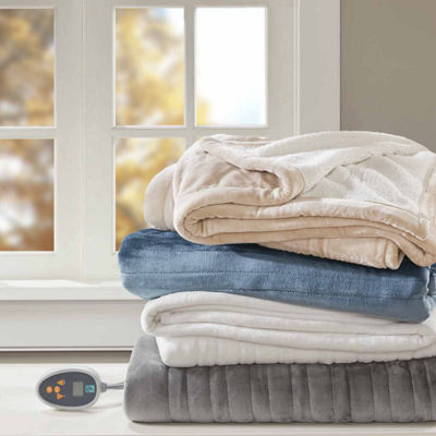 True North Reversible Ultra Soft Plush Electric Blanket